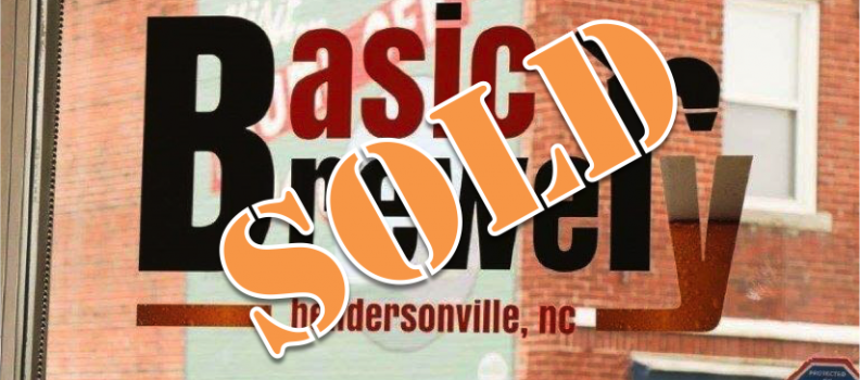 Sold – Basic Brewery